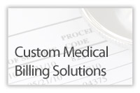 Custom Medical Billing Solutions